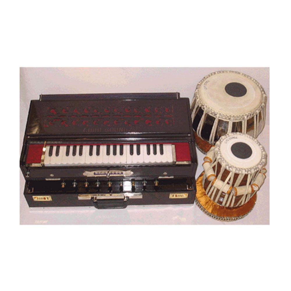 Guru Soundz Excl Changer Harmonium + Premium Tabla